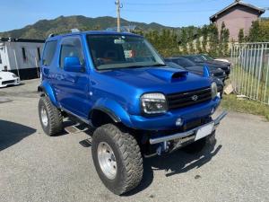スズキ ジムニー XC 4WD 5MT リフトアップ ターボ ETC アルミ