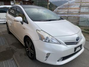 トヨタ プリウスアルファ S スマートキー ETC サンルーフ ナビTV アルミ