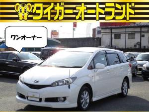 トヨタ ウィッシュ 2.0G ワンオーナー スマートキー HDDナビ エアロ