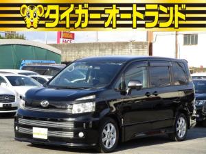 トヨタ ヴォクシー ZS ストリートビレット パドルシフト スマートキー プッシュスタート 両側パワースライドドア HDDナビ フルセグ DVD CD Bluetooth ニュージックサーバー バックカメラ タイミングチェーン