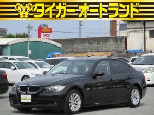 BMW 3シリーズ 320i スマートキー プッシュスタート 社外HDDナビ フルセグ DVD CD Mサーバー 前席パワーシート 16AW オートエアコン ETC HID フォグ バックフォグ タイミングチェーン