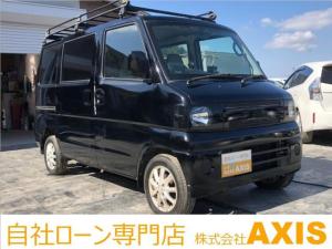 三菱 ミニキャブバン CD 5ミッション/置型ナビ/貨物登録/後席フルフラット