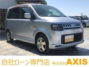 日産 オッティ RX 新品シートカバー装着/後席フルフラットシート