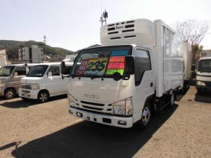 いすゞ エルフトラック  冷蔵冷凍車 低温仕様 スタンバイ付 サイドドア付 フルフラットロー