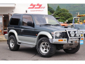 三菱 パジェロ ワイド XR-II 4WD メタルトップ ディーゼルターボ