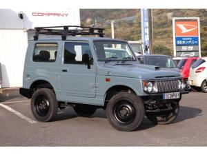 スズキ ジムニー ワイルドウインド 保証付 4WD ターボ エアコン パワステ ルーフキャリア MDオーディオ レザーシートカバー フロアAT