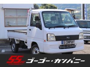 スバル サンバートラック TB 保証付き・マニュアルエアコン・4WD・AM FMラジオ・5速マニュアル・エアバッグ