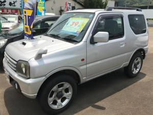 スズキ ジムニー XC 4WD ターボ キーレス CDオーディオ 純正アルミ