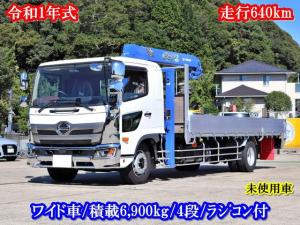 日野 レンジャープロ  8t セルフ 4段クレーン付 ラジコン