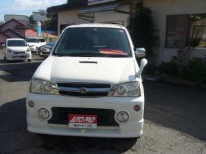 ダイハツ テリオスキッド カスタムX 4WD ターボ キーレス CDオーディオ
