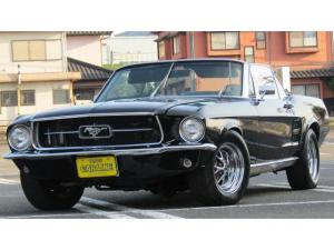 フォード マスタング コンバーチブル 左ハンドル 全塗装 アルミ