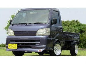 ダイハツ ハイゼットトラック スペシャル 車高調 チンスポ アルミ 社外ナビ