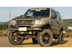 スズキ ジムニー XC 4WD リフトアップ アルミ マフラー 社外DVDデッキ