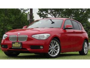 BMW 1シリーズ 116i ファッショニスタ 370台限定車 革シート 純正HDDナビ バックカメラ