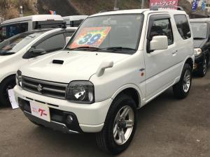 スズキ ジムニー ワイルドウインド 5速MT ターボ 4WD CD MD
