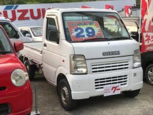 スズキ キャリイトラック KU エアコン パワステ 5速MT 4WD 三方開