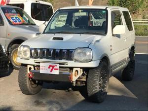 スズキ ジムニー ワイルドウインド 4WD ターボ HDDナビ ETC