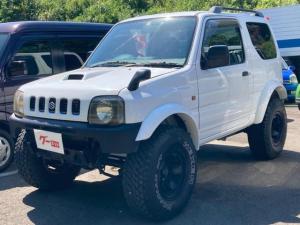 スズキ ジムニー XC 保証付 リフトアップ 4WD アルミホイール CD再生 ETC 4名乗り スペリアホワイト 車検令和4年5月 点検記録簿