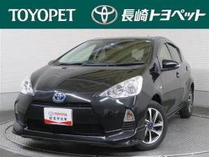 トヨタ アクア S ワンオーナー エアロ キーレス ETC アルミホイール トヨタ認定中古車 CD