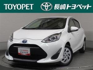 トヨタ アクア S ワンオーナー キーレス CD トヨタ認定中古車