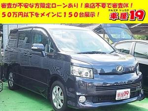 トヨタ ヴォクシー Z 保証付/SDナビ/スマートキー/片パワスラ/純アルミ