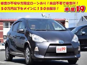 トヨタ アクア S 1年保証/スマートキー/Pスタート/ナビ/ETC/Bカメラ