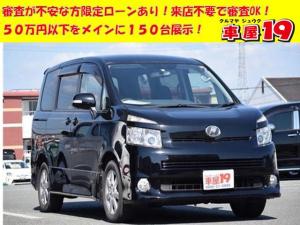 トヨタ ヴォクシー Z 1年保証/キーレス/TV/ETC/片パワスラ/Bカメラ/純正アルミ HIDライト