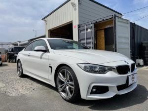 BMW 4シリーズ 420iクーペ Mスポーツ 赤革シート サンルーフ HDDナビ バックカメラ 地デジ ETC LEDライト 19AW