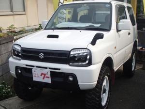 スズキ ジムニー リフトアップ 社外16アルミ 5速マニュアル 4WD