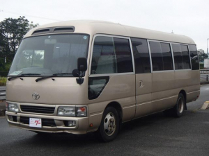 トヨタ コースタービックバン 1ナンバー・バス 構造変更対応 ナビ ETC