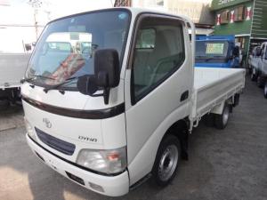 トヨタ ダイナトラック 1.5t積 低床平ボディ リアWタイヤ