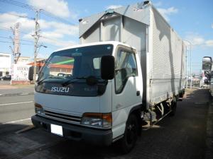 いすゞ エルフトラック  アルミウイング3300kg積 パワーリフト1000kg 荷台内寸 長さ503cm幅208cm高さ228cm