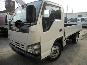 いすゞ エルフトラック  2t積 全低床平ボディ 走行46000キロ