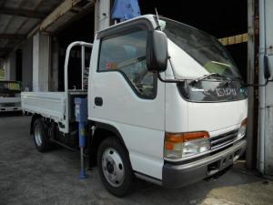 いすゞ エルフトラック  3段クレーン同年式 タダノ2.33t吊 荷台内寸 長さ250幅169