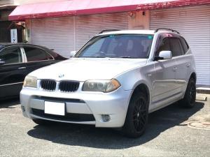 BMW X3 2.5i キーレス アルミ 純正ナビ