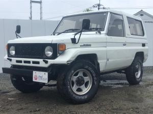 トヨタ ランドクルーザー70 ディーゼルエンジン 4WD 5速MT
