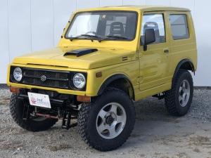 スズキ ジムニー スコットリミテッド 4WD リフトアップ 社外マフラー エアコン パワーステアリング CDオーディオ ドリンクホルダー 1か月1,000Km保証付き