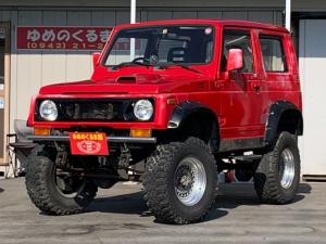 スズキ ジムニー ワイルドウインド 4WD リフトアップ 社外マフラー 社外アルミ