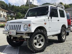 スズキ ジムニー HA 4WD 外バンパー 外マフラー リビルトエンジン 5速マニュアル車 ルーフキャリア 1か月1,000KM保証付き オーディオ