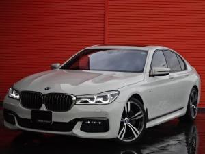 BMW 7シリーズ 740d xDrive Mスポーツ ワンオーナー 黒革 サンルーフ 20AW ナビTV パークディスタンス ヘッドアップディスプレイ アクティブクルーズコントロール コンフォートアクセス 3Dビューカメラ