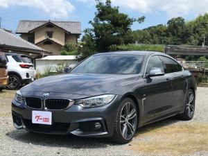 BMW 4シリーズ 420iグランクーペ イン スタイル Mスポーツ 純正ナビ バックカメラ クルコン 電動リアゲート