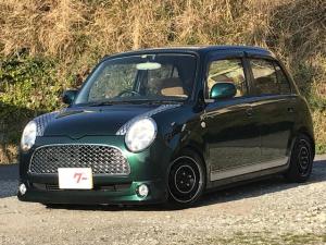 ダイハツ ミラジーノ L メモリーナビ フルセグT再生 ブラックイ車高調14、6J
