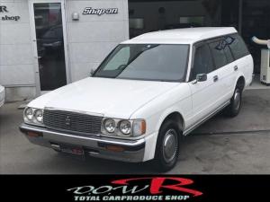 トヨタ クラウンバン SDX 丸目4灯 ドアミラー エアコンパワステ GS136V