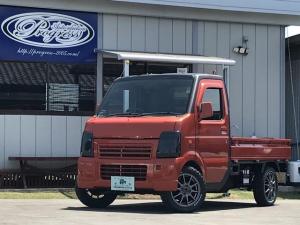 スズキ キャリイトラック KCエアコン・パワステ 3方開 4WD カスタム軽トラック セミレストア済 全塗装