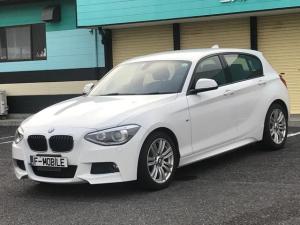 BMW 1シリーズ 116i Mスポーツ 保証付 純正HDDナビ ETC HIDライト オートライト 純正アルミホイール 純正CDオーディオ アイドリングストップ スマートキー プッシュスタート ディーラー車 右ハンドル