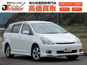 トヨタ ウィッシュ X SパッケージワンオーナーHDDナビキーレスHIDETC