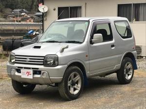 スズキ ジムニー XG 4WD ターボ キーレス CDオーディオ 純正アルミ
