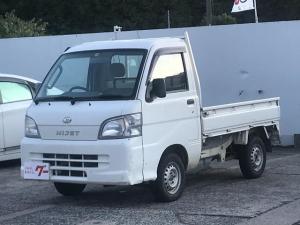 ダイハツ ハイゼットトラック ローダンプ 保証付 5速MT 4WD 三方開 エアコン パワステ 純正ラジオ