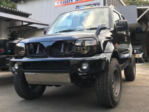 スズキ ジムニーワイド JZ 2インチアップ 社外アルミ 4WD 5速マニュアル