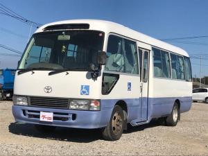 トヨタ コースター  バス 福祉車両 リフター付スローパー